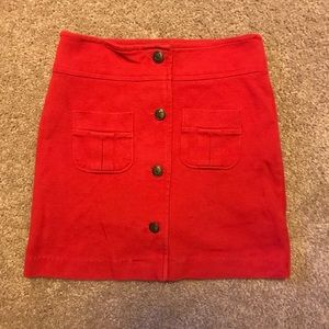 Girls Red Skirt